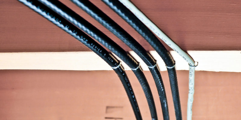 Properly Secure Low Voltage Wires and Data Cables