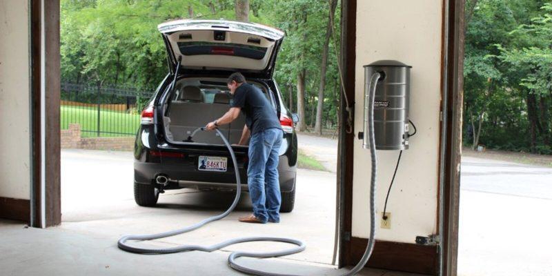 Wall Mounted Garage Vacuums