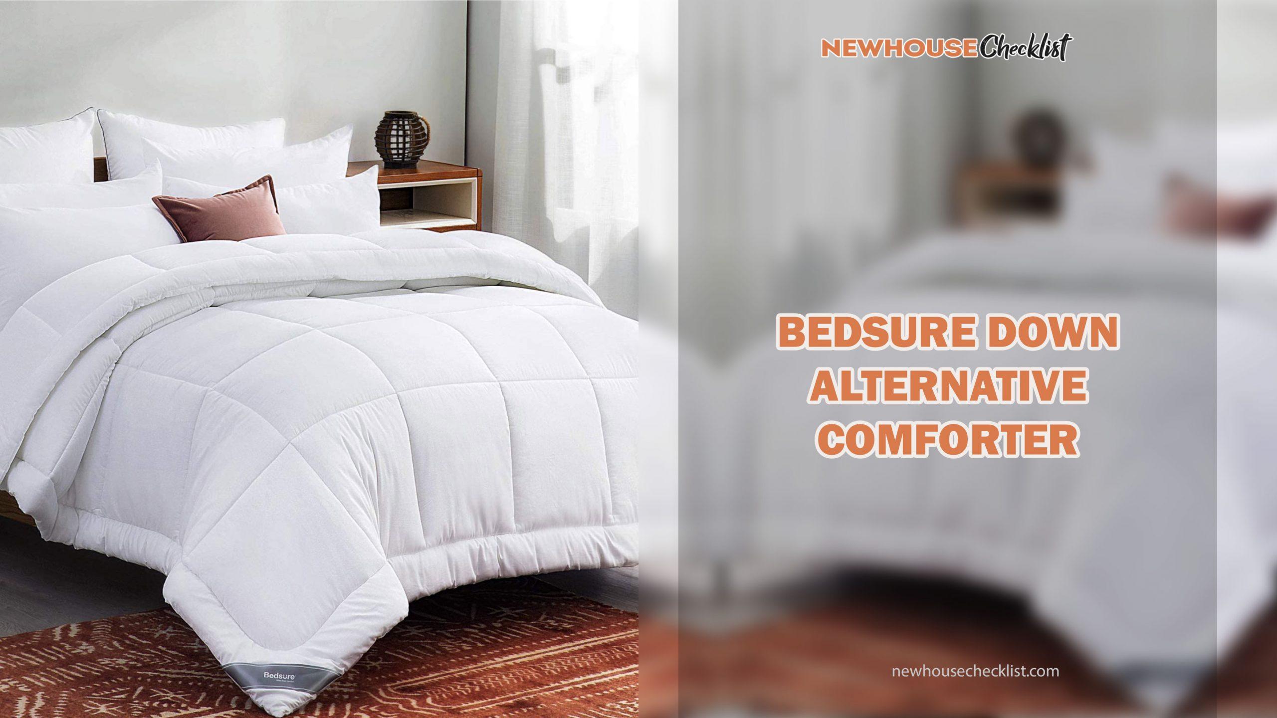 Best Fluffy White Comforter Set Full