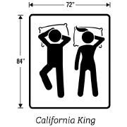 California King Size Box Springs Measurements