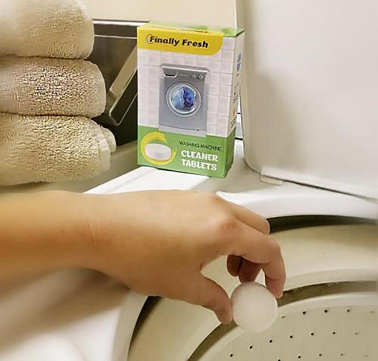 Finally Fresh washing machine cleaner