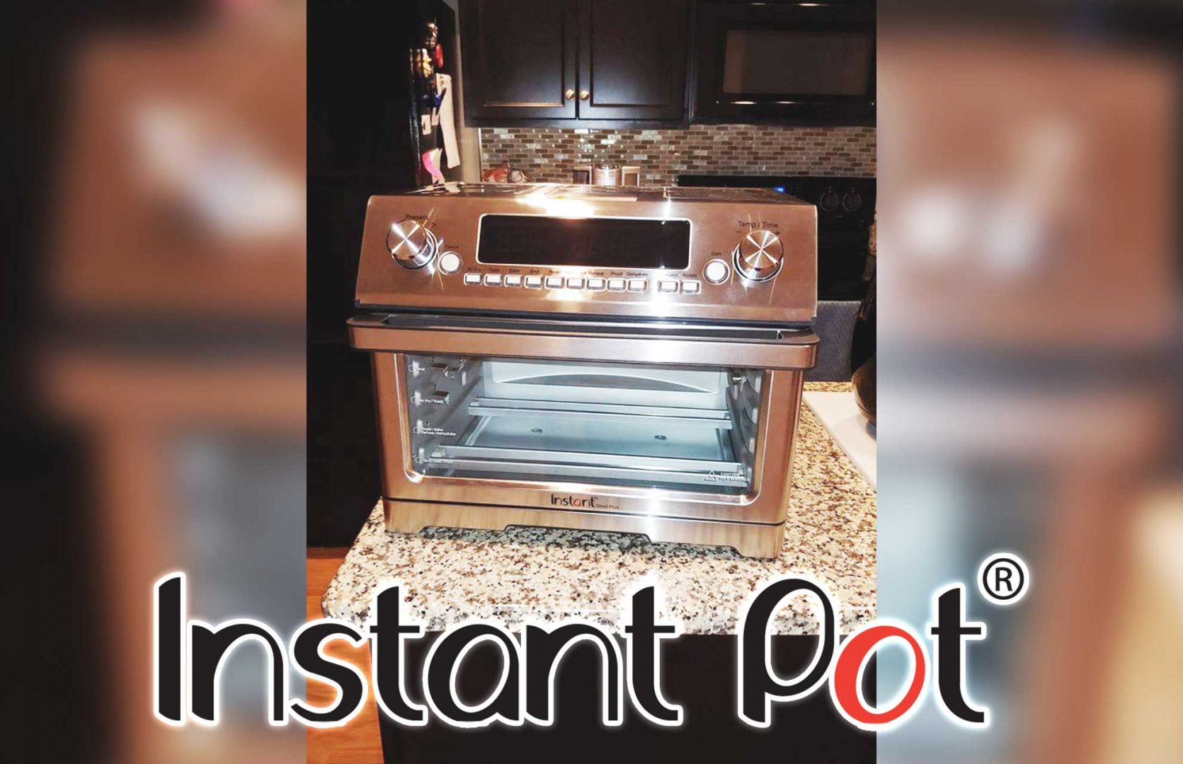 Instant pot air fryer with rotisserie
