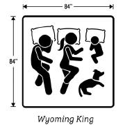 Wyoming King Size Box Springs Measurements